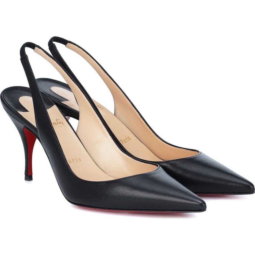 クリスチャン ルブタン Christian Louboutin レディース パンプス シューズ・靴【Clare 80 leather pumps】Black