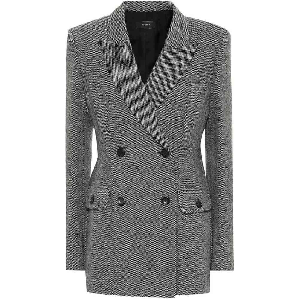 ジョゼフ Joseph レディース スーツ・ジャケット アウター【Wool-blend blazer】black
