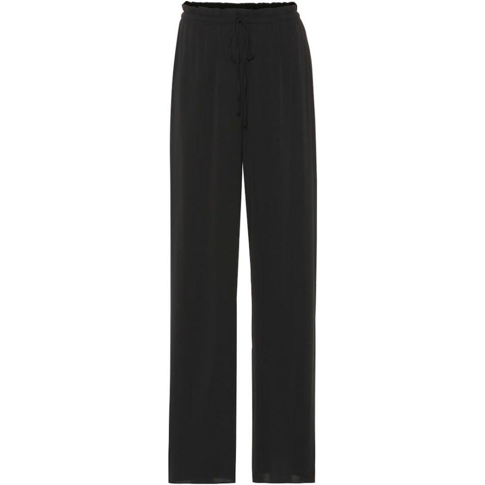 ザ ロウ The Row レディース ボトムス・パンツ 【JR stretch silk pants】Black