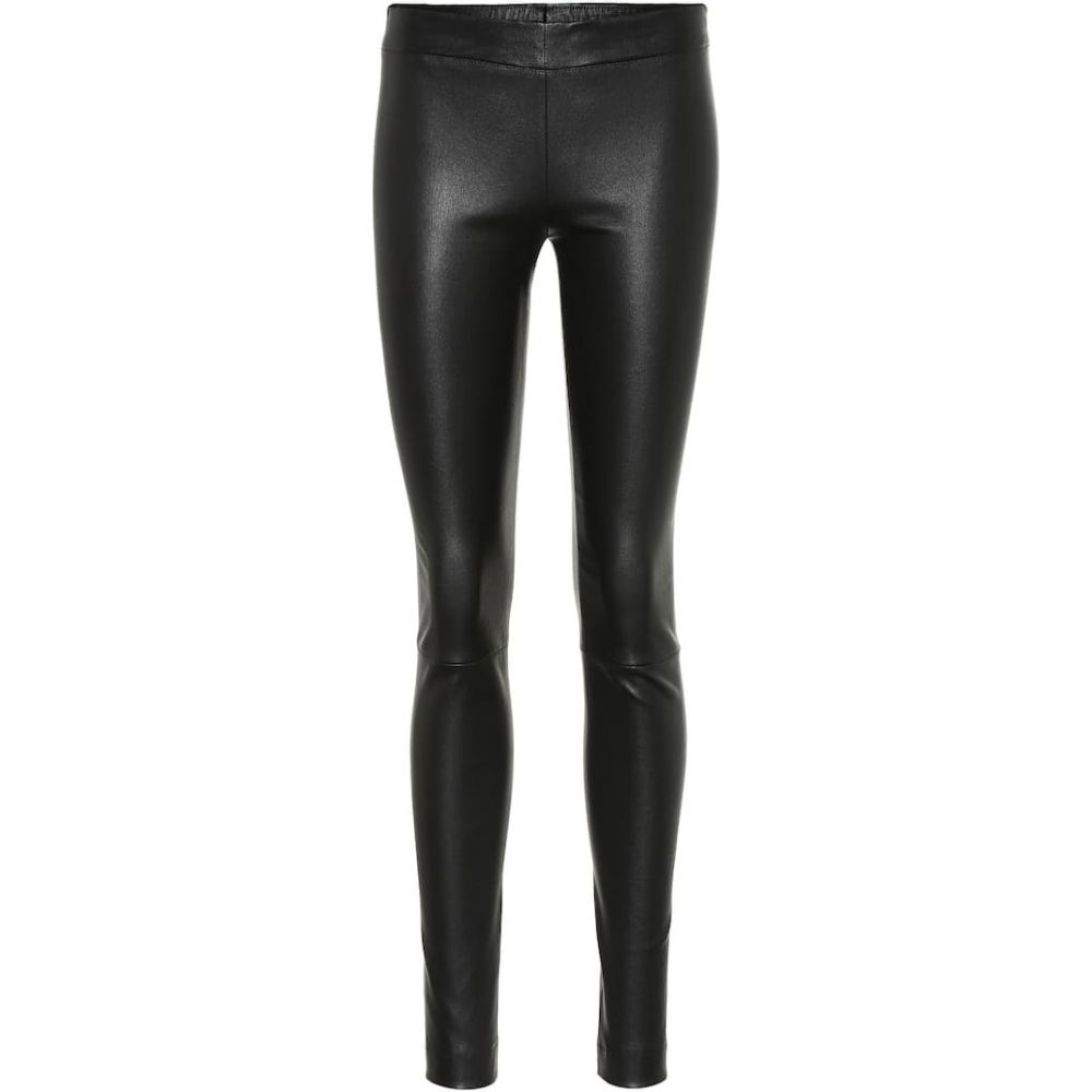 ザ ロウ The Row レディース スパッツ・レギンス インナー・下着【Moto leather leggings】Black