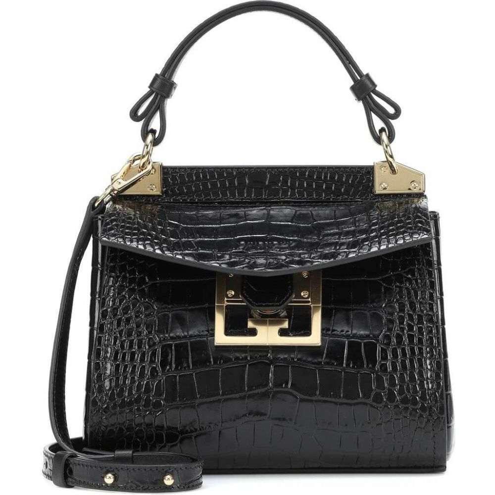 ジバンシー Givenchy レディース ショルダーバッグ バッグ【Mystic Mini leather shoulder bag】Black