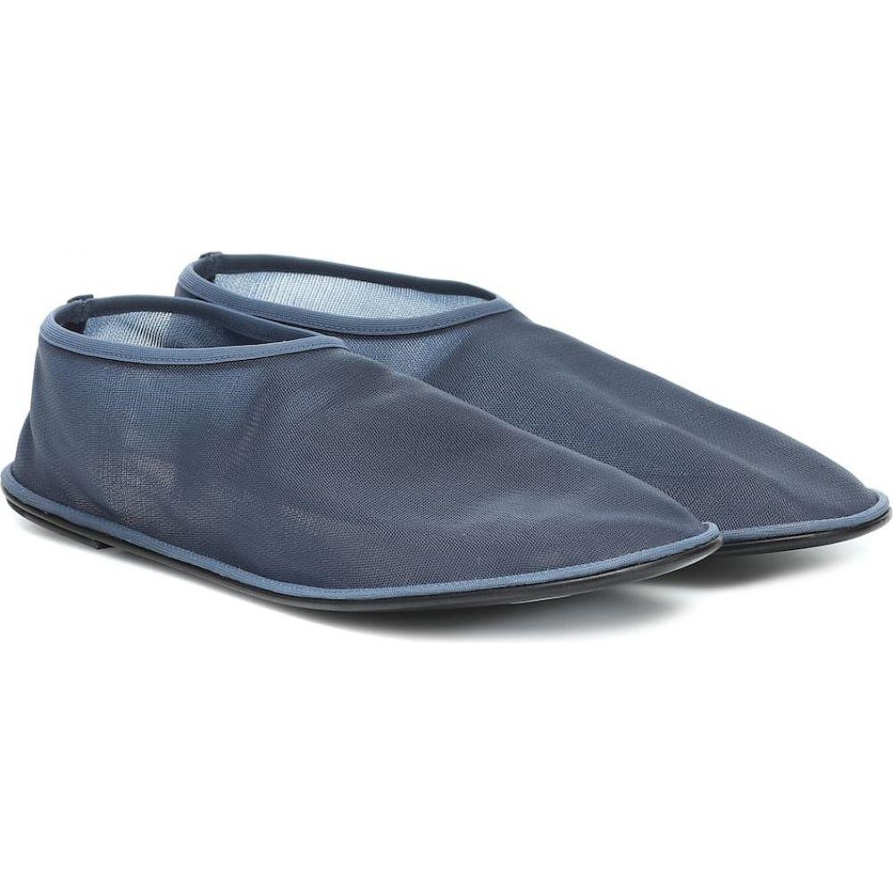 ザ ロウ The Row レディース スリッポン・フラット シューズ・靴【Sock ballet flats】Navy