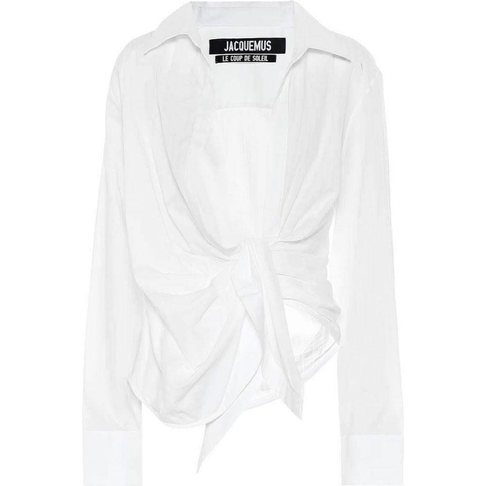ジャックムス Jacquemus レディース ブラウス・シャツ トップス【La Chemise Bahia cotton shirt】White