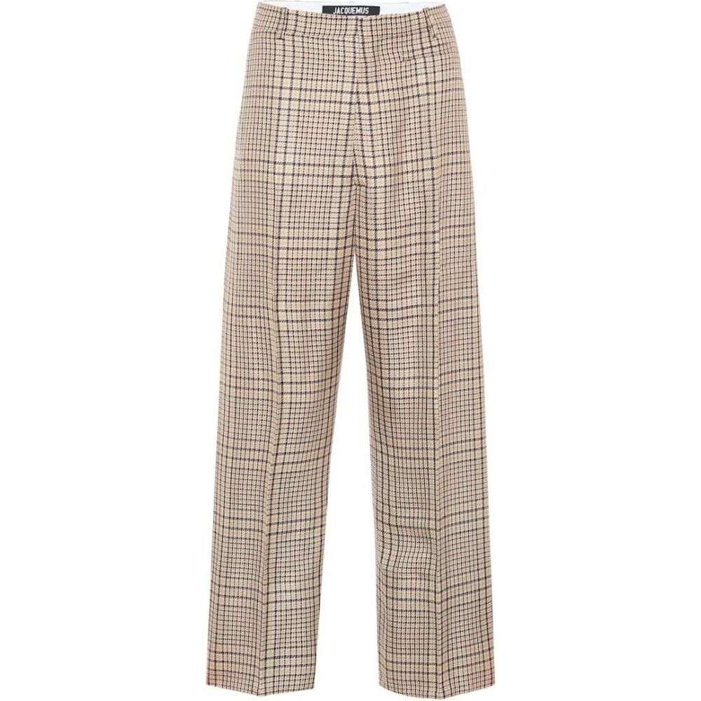 ジャックムス Jacquemus レディース ボトムス・パンツ 【Le Pantalon Santon high-rise pants】Green