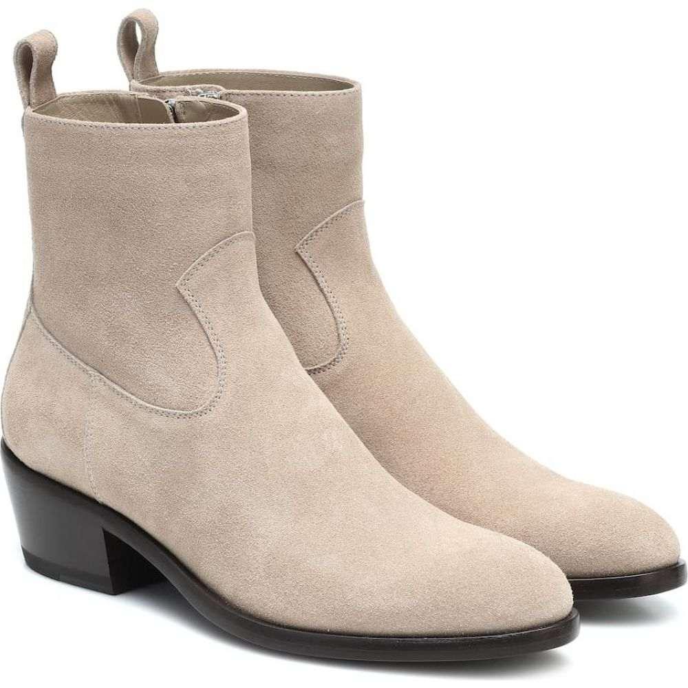 ジミー チュウ Jimmy Choo レディース ブーツ ショートブーツ シューズ・靴【x KAIA K-Jesse suede ankle boots】Stone