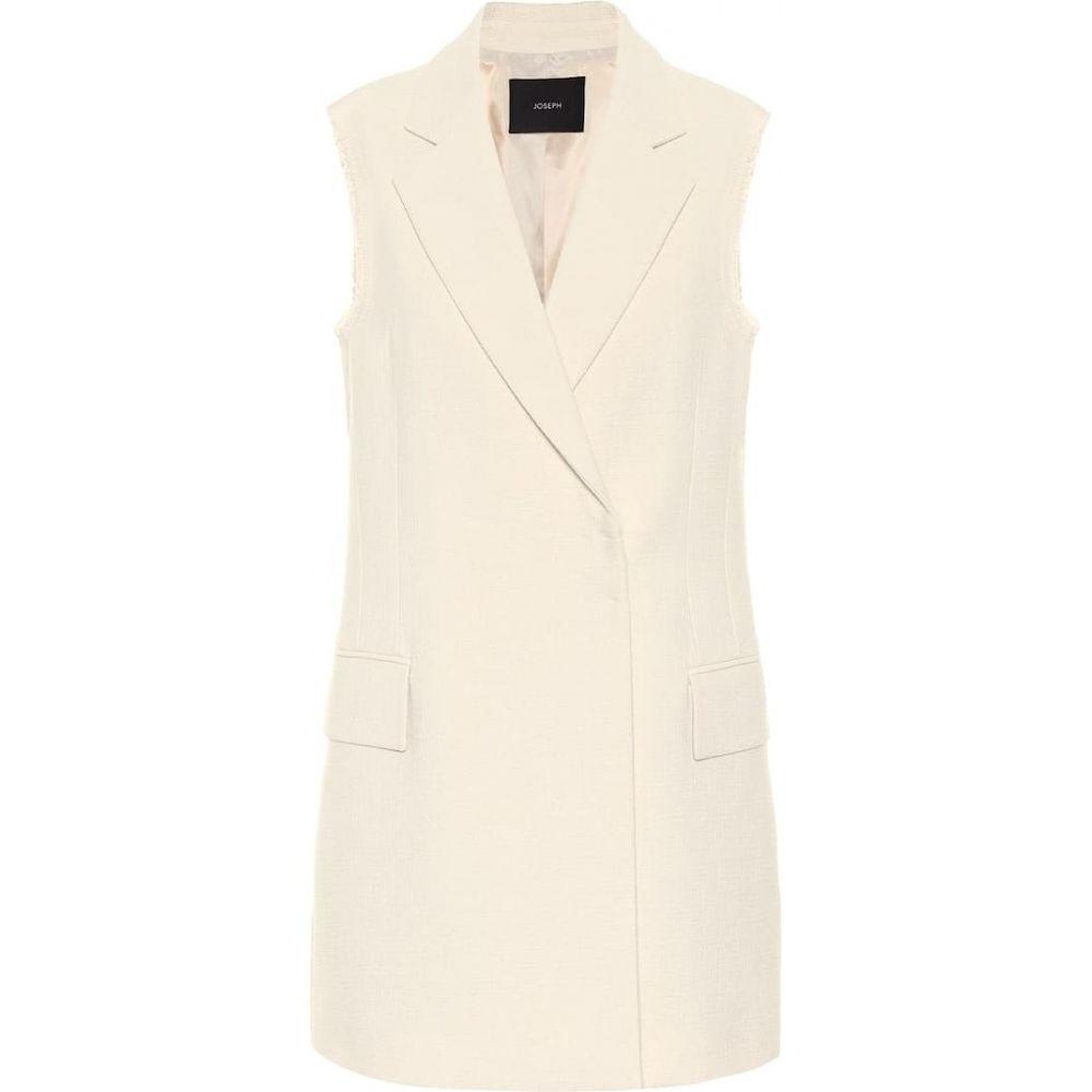 ジョゼフ Joseph レディース ベスト・ジレ トップス【Jyrielle cotton vest】Cream