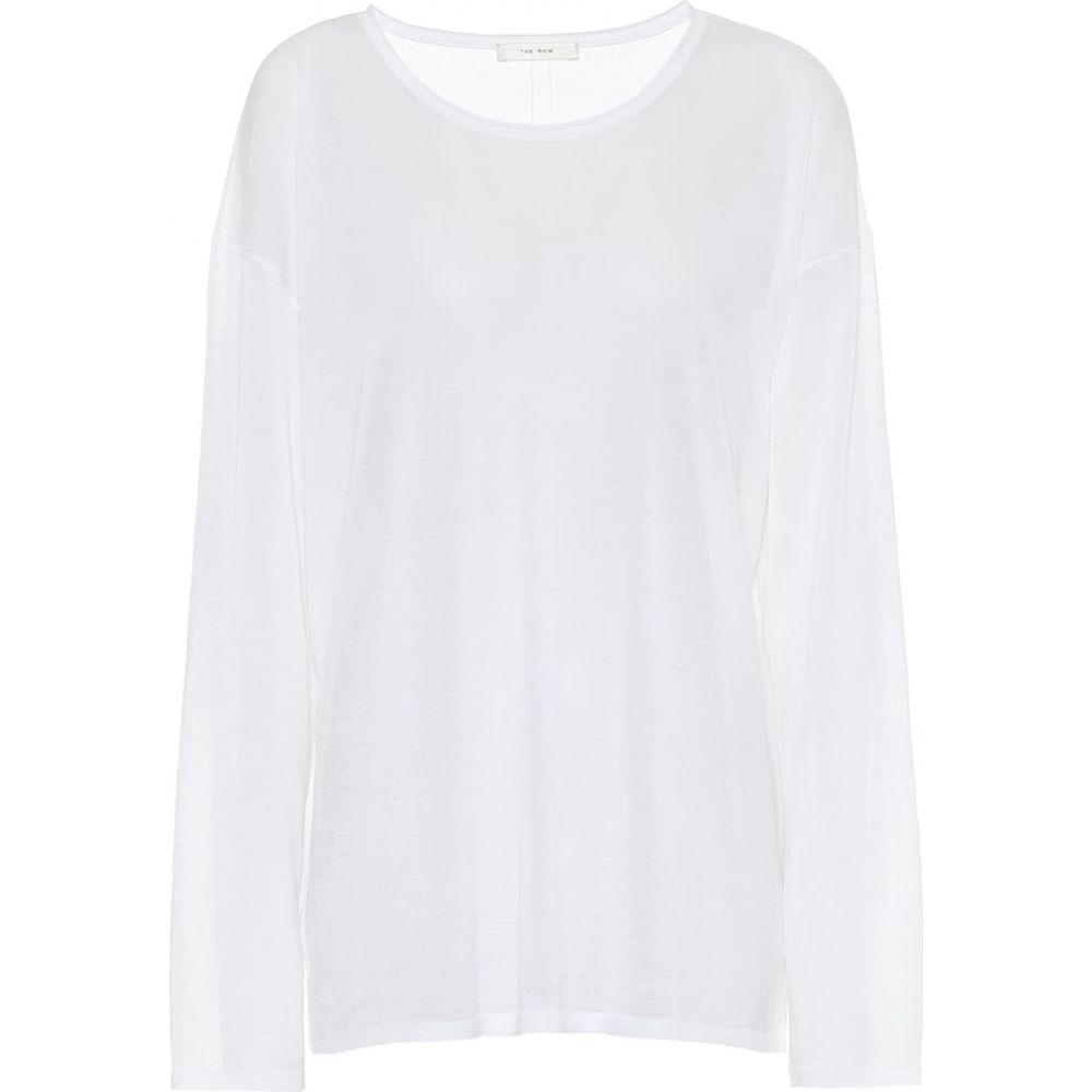 ザ ロウ The Row レディース トップス 【Emila cotton top】White