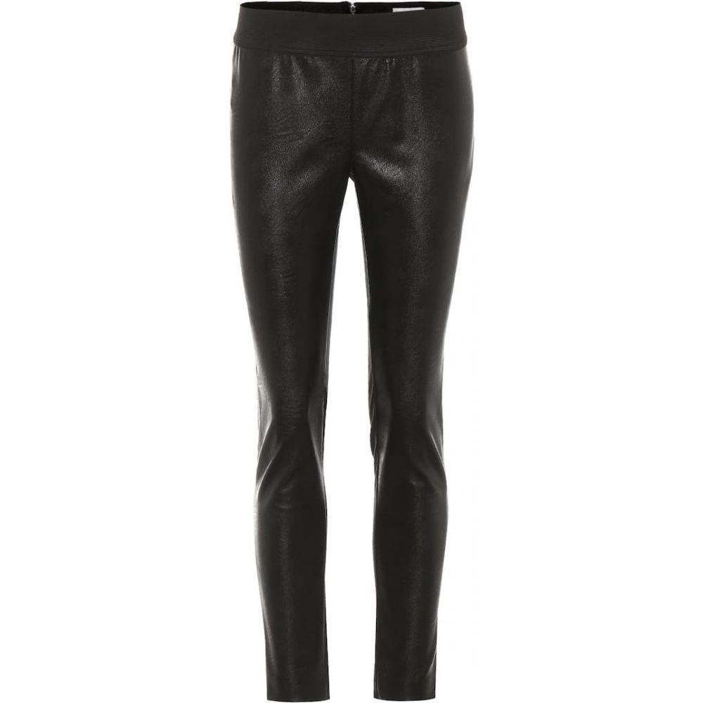 ステラ マッカートニー Stella McCartney レディース ボトムス・パンツ レザーレギンス【Darcelle faux leather leggings】Black