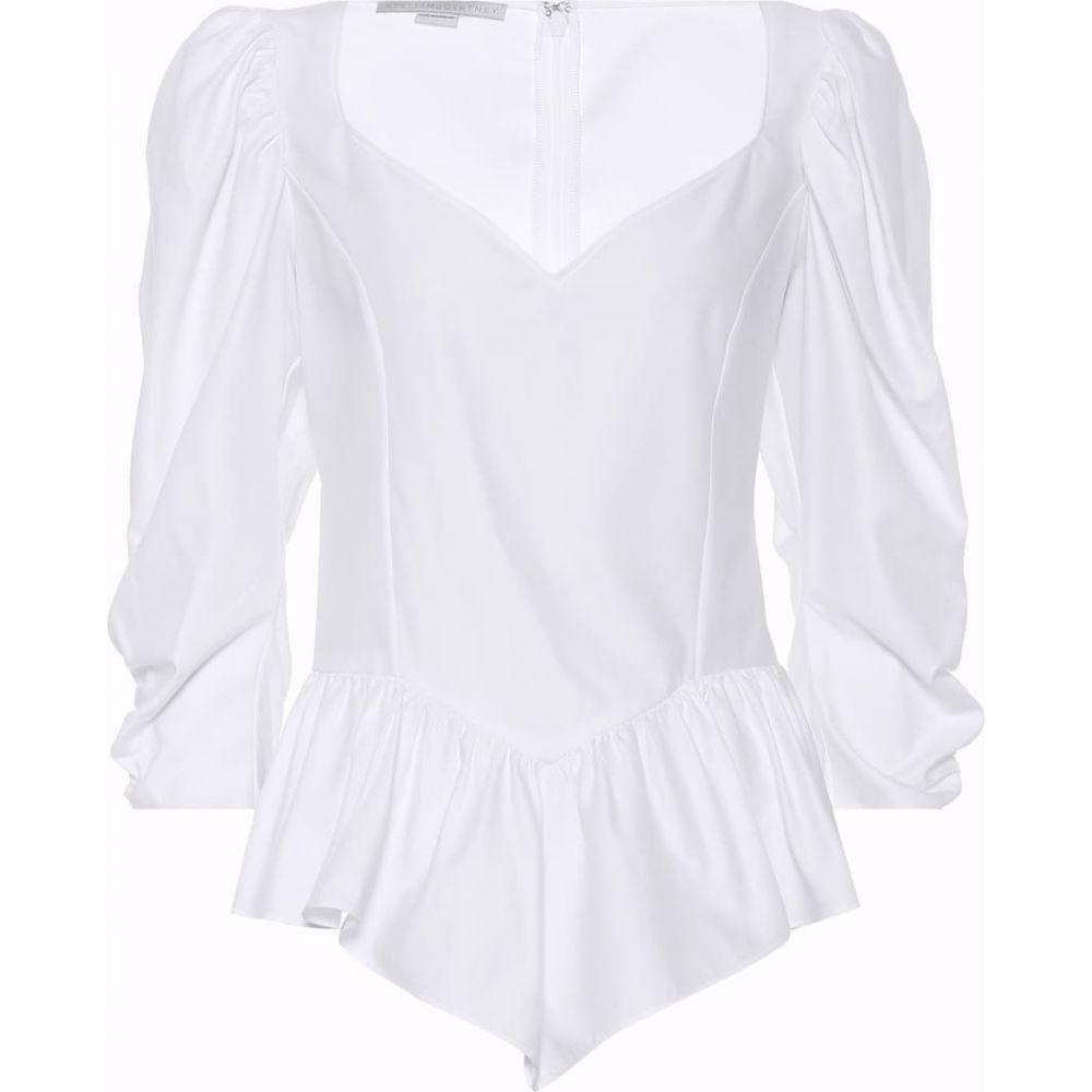 ステラ マッカートニー Stella McCartney レディース ブラウス・シャツ トップス【Cotton blouse】Pure White