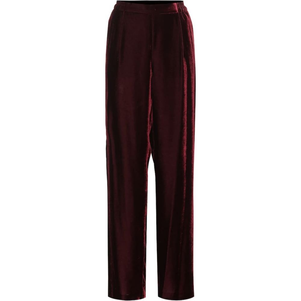 ステラ マッカートニー Stella McCartney レディース ボトムス・パンツ 【Velvet pants】burgundy