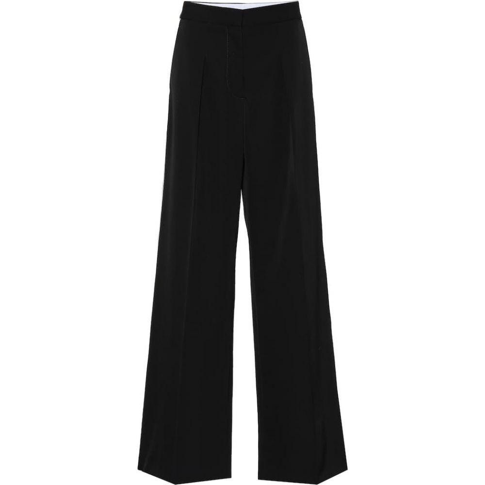 ステラ マッカートニー Stella McCartney レディース ボトムス・パンツ 【Pleat-front wool pants】Black