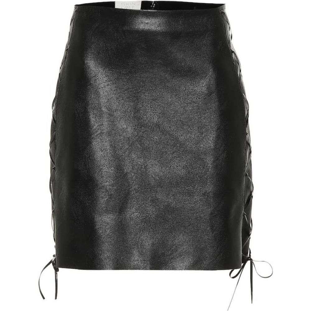 ステラ マッカートニー Stella McCartney レディース ミニスカート スカート【Faux leather miniskirt】black