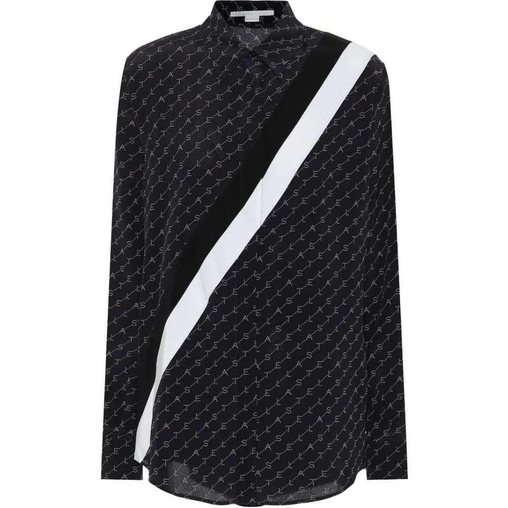 ステラ マッカートニー Stella McCartney レディース ブラウス・シャツ トップス【Printed silk shirt】ink