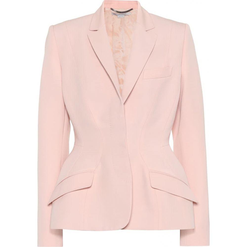 ステラ マッカートニー Stella McCartney レディース スーツ・ジャケット アウター【Virgin wool blazer】rose