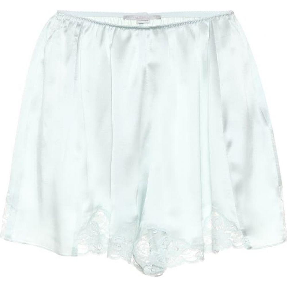 ステラ マッカートニー Stella McCartney レディース ショートパンツ ボトムス・パンツ【Silk satin shorts】light mint