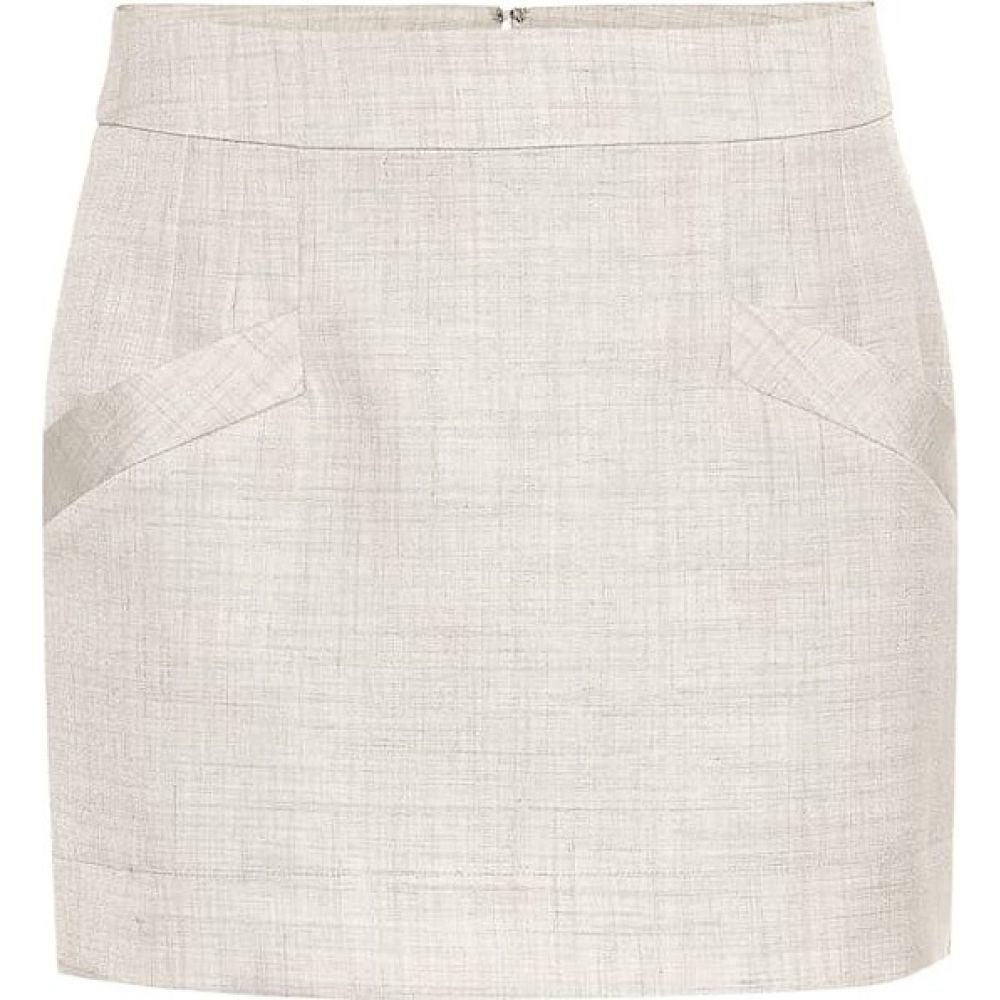 ステラ マッカートニー Stella McCartney レディース ミニスカート スカート【Linen-blend miniskirt】Linen