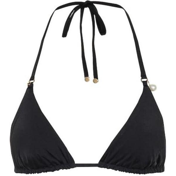 ステラ マッカートニー Stella McCartney レディース トップのみ 水着・ビーチウェア【Halter bikini top】Black