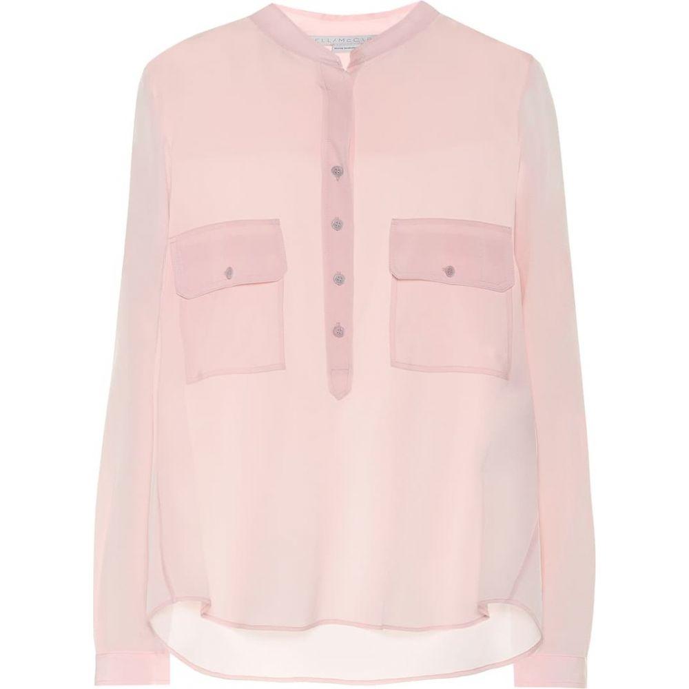 ステラ マッカートニー Stella McCartney レディース ブラウス・シャツ トップス【Silk-crepe blouse】Ballet Pin