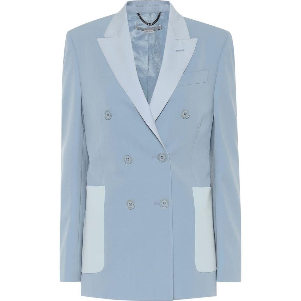 ステラ マッカートニー Stella McCartney レディース スーツ・ジャケット アウター【Wool blazer】Mineral Blue