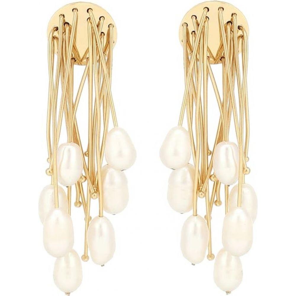 ジル サンダー Jil Sander レディース イヤリング・ピアス ジュエリー・アクセサリー【Pearl-embellished earrings】