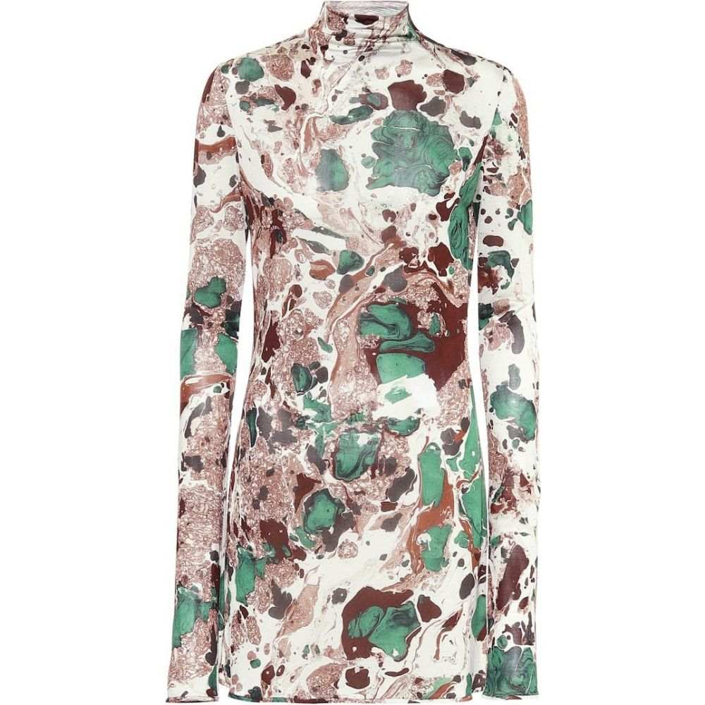 ジル サンダー Jil Sander レディース トップス 【Printed silk mockneck top】Open Miscellaneous