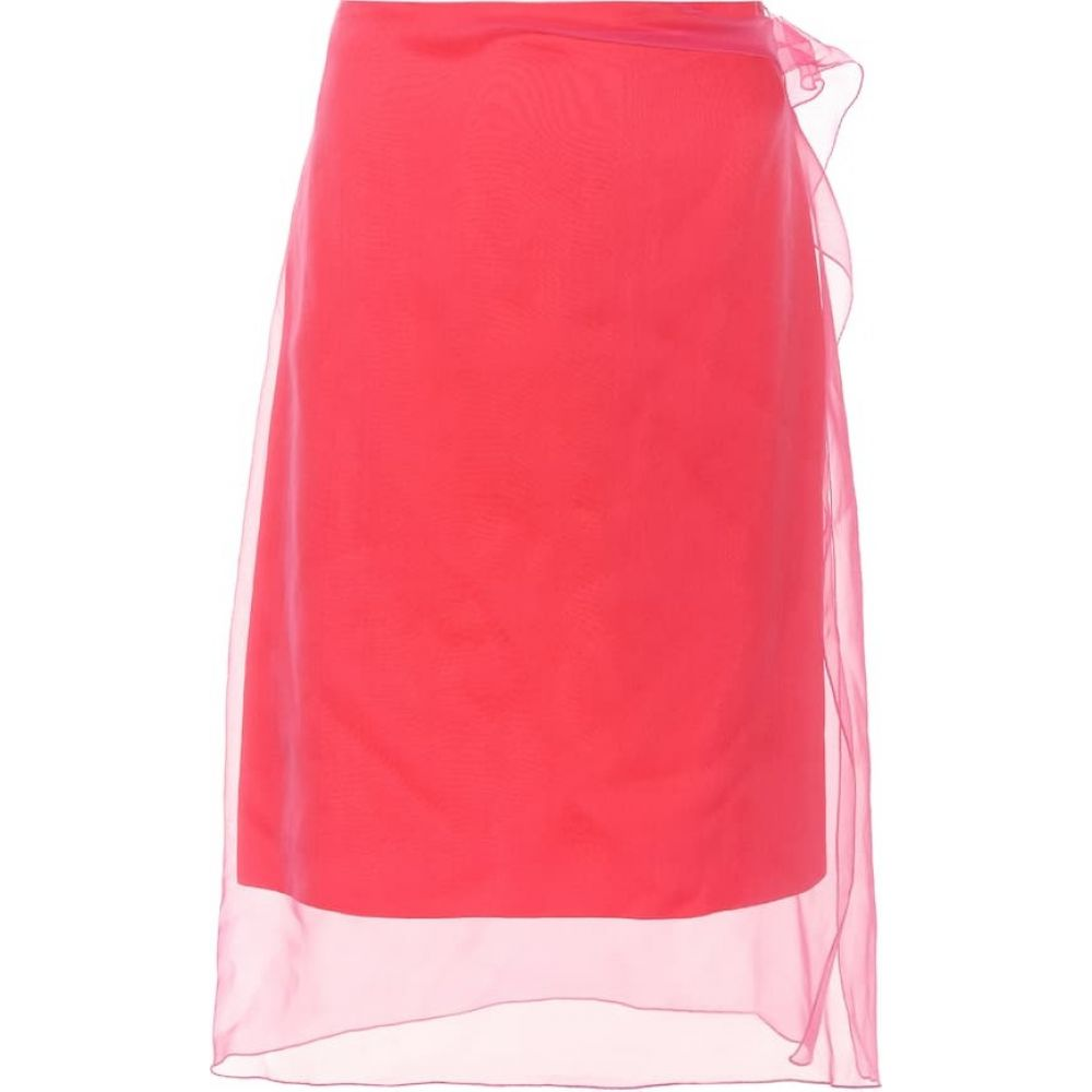ドリス ヴァン ノッテン Dries Van Noten レディース スカート 【Silk skirt】Fuchsia