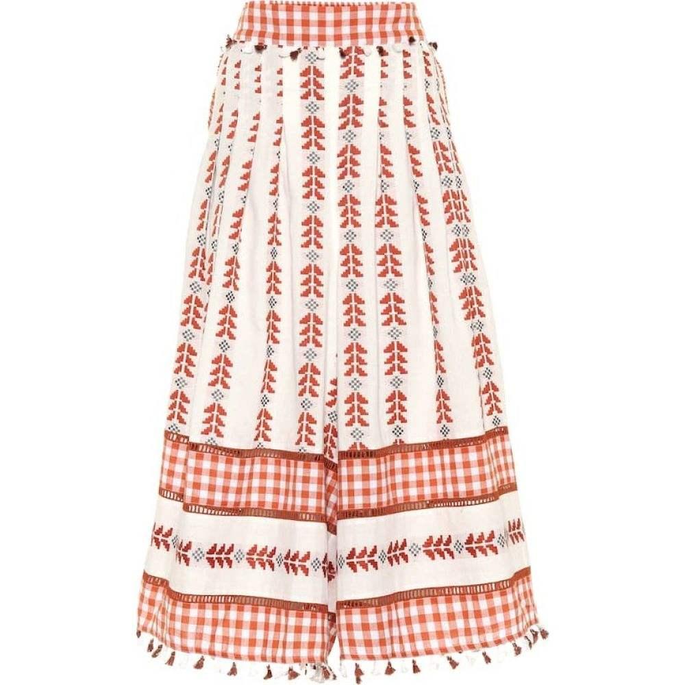 ドド バー オア Dodo Bar Or レディース ビーチウェア ボトムス・パンツ 水着・ビーチウェア【Embroidered cotton pants】Rust