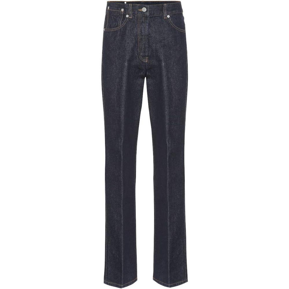 ドリス ヴァン ノッテン Dries Van Noten レディース ジーンズ・デニム ボトムス・パンツ【High-rise straight jeans】Indigo