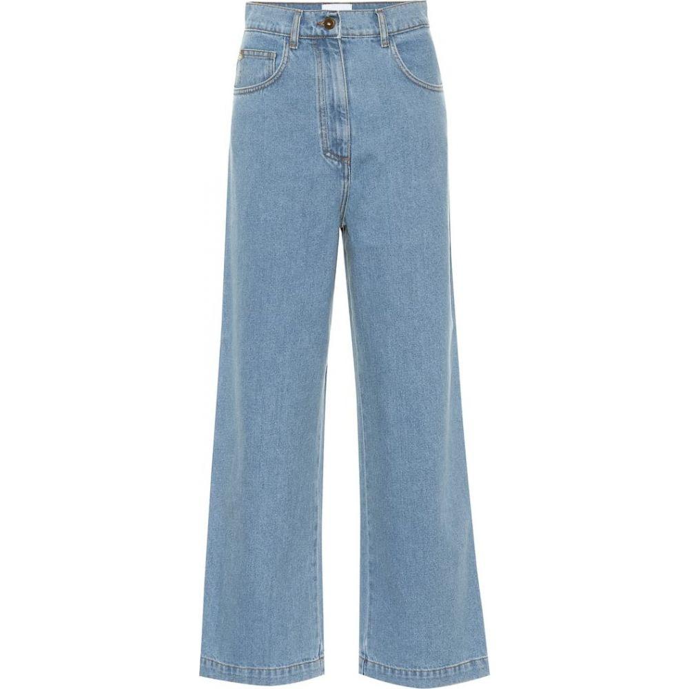 ナヌシュカ Nanushka レディース ジーンズ・デニム ボトムス・パンツ【Marfa high-rise straight jeans】90's Blue