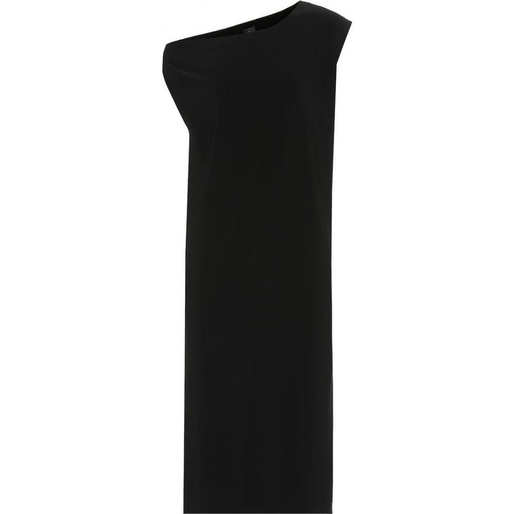 ノーマ カマリ Norma Kamali レディース ワンピース ドロップショルダー ワンピース・ドレス【Drop Shoulder jersey dress】Black
