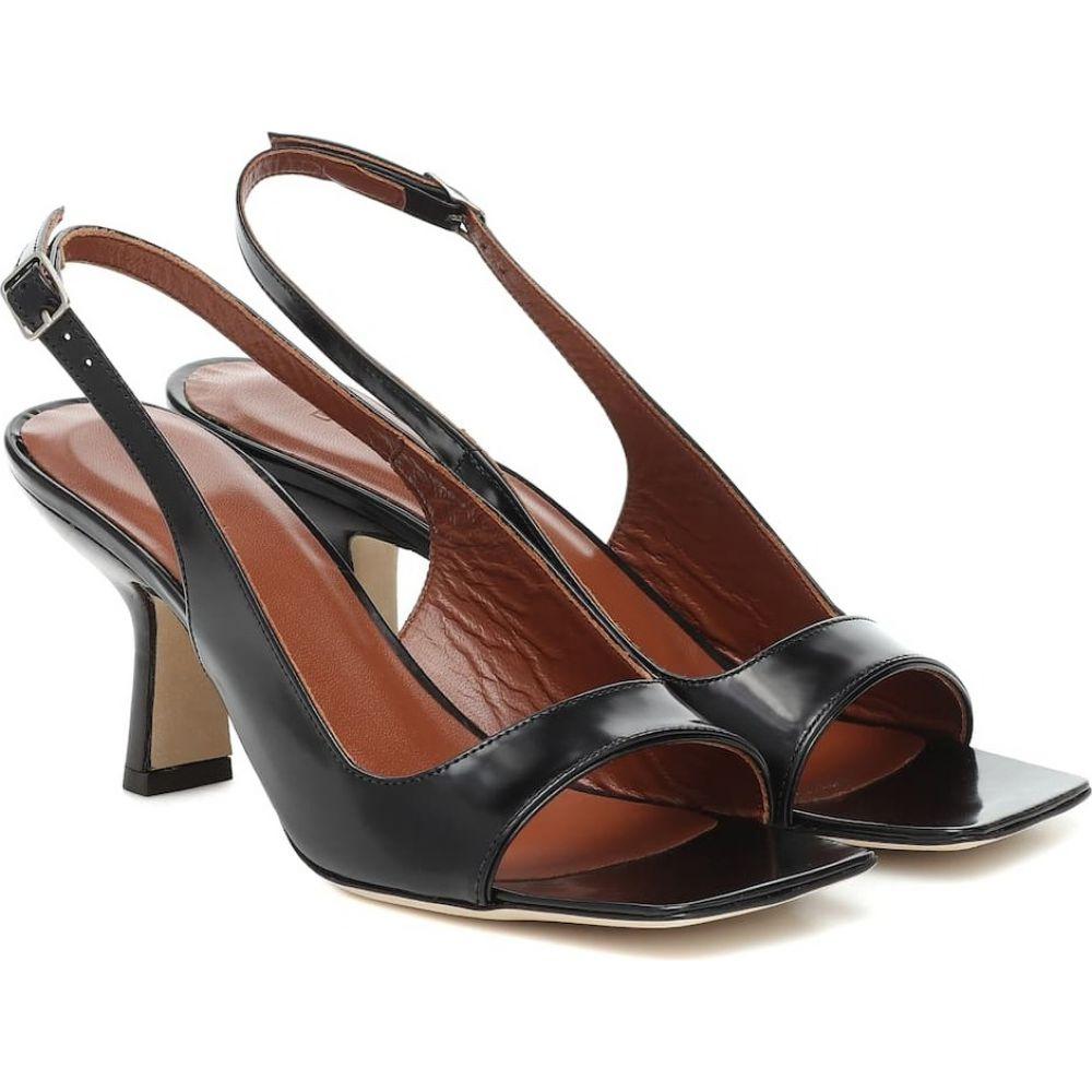 バイ ファー By Far レディース サンダル・ミュール シューズ・靴【Lopez leather sandals】Black