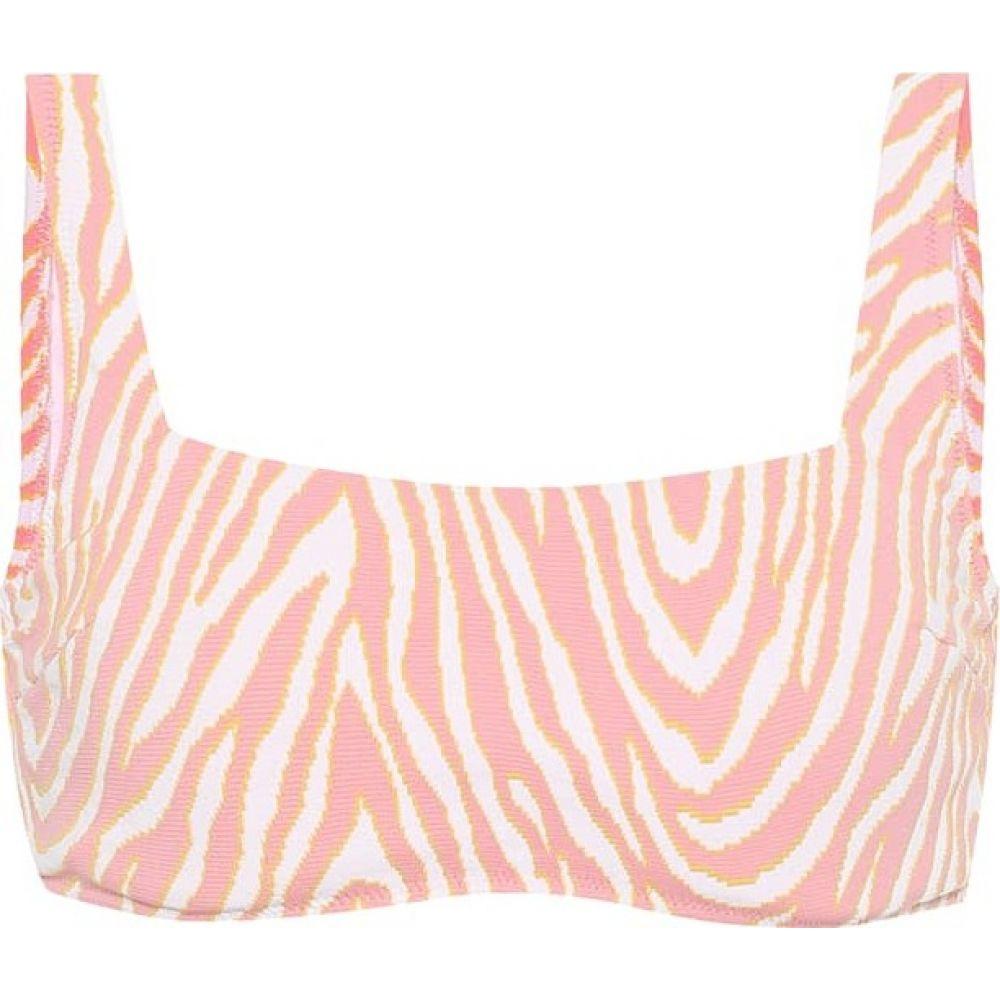 ハイジ クライン Heidi Klein レディース トップのみ 水着・ビーチウェア【Cape Town zebra-print bikini top】Print