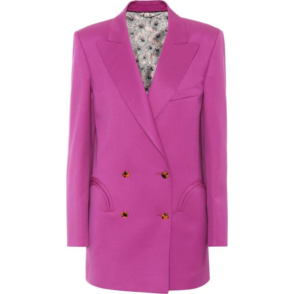 ブレイズ ミラノ Blaze Milano レディース スーツ・ジャケット アウター【Exclusive to mytheresa.com - Shamrock wool blazer】Pink