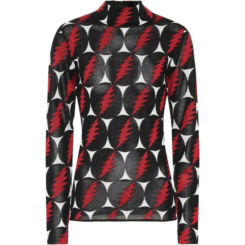 プロエンザ スクーラー Proenza Schouler レディース トップス 【Grateful Dead silk turtleneck top】Black Multi