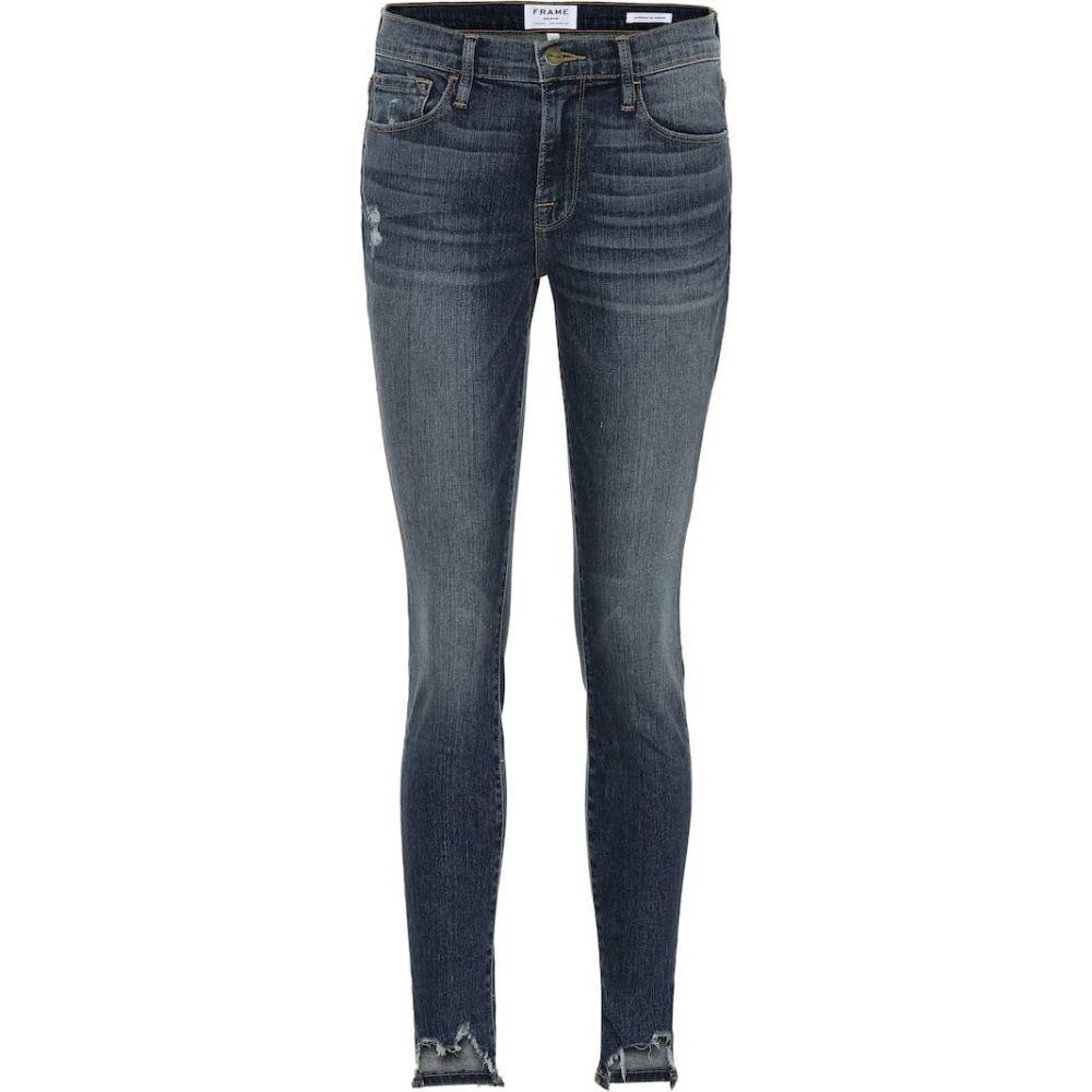 フレーム Frame レディース ジーンズ・デニム ボトムス・パンツ【Jeanne Front Chew skinny jeans】Loren