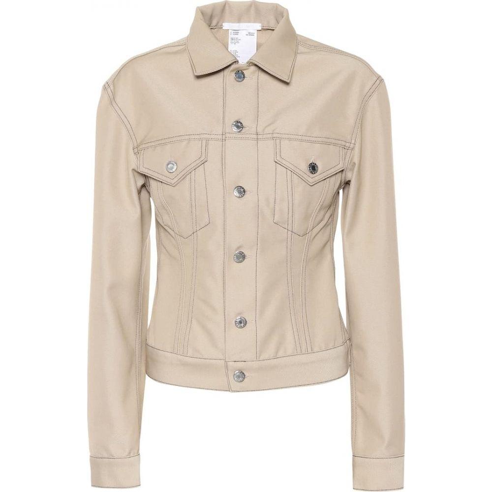 ヘルムート ラング Helmut Lang レディース ジャケット Gジャン アウター【Cotton-blend denim jacket】Tufa