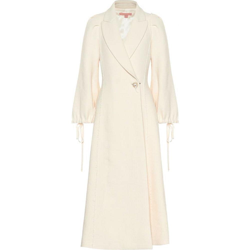 ブロック コレクション Brock Collection レディース コート アウター【Wool and linen-blend coat】Natural