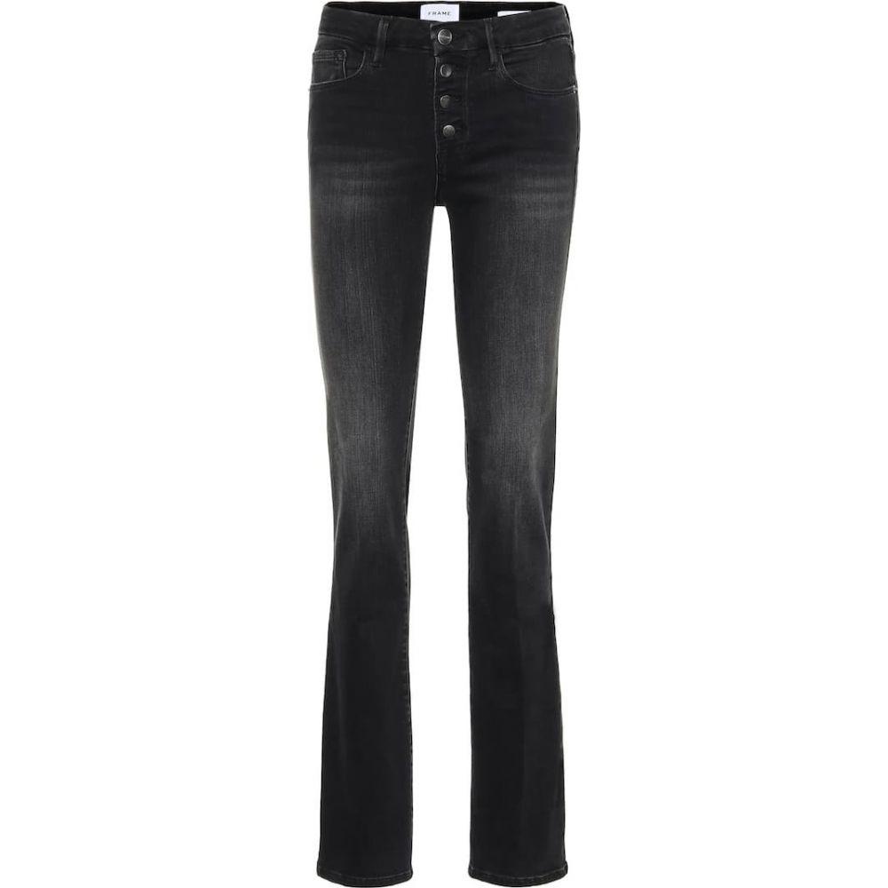 フレーム Frame レディース ジーンズ・デニム ボトムス・パンツ【Le Mini Boot high-rise jeans】Charlie