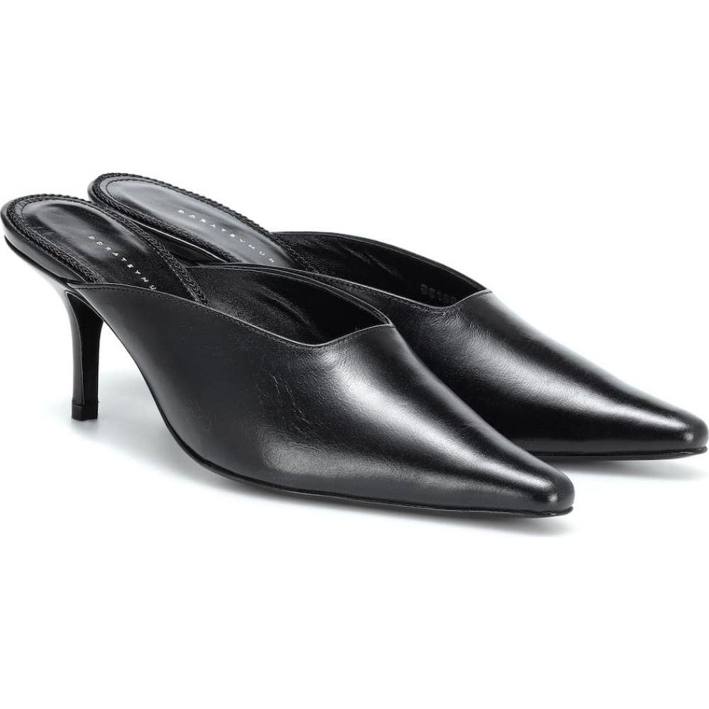 ドラティムール Dorateymur レディース サンダル・ミュール シューズ・靴【groupie leather mules】black