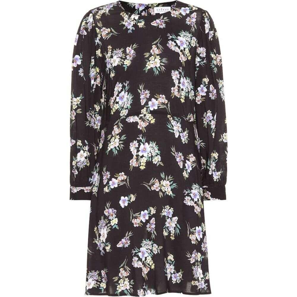 ベルベット グラハム&スペンサー Velvet レディース ワンピース ワンピース・ドレス【winola printed dress】bellflower