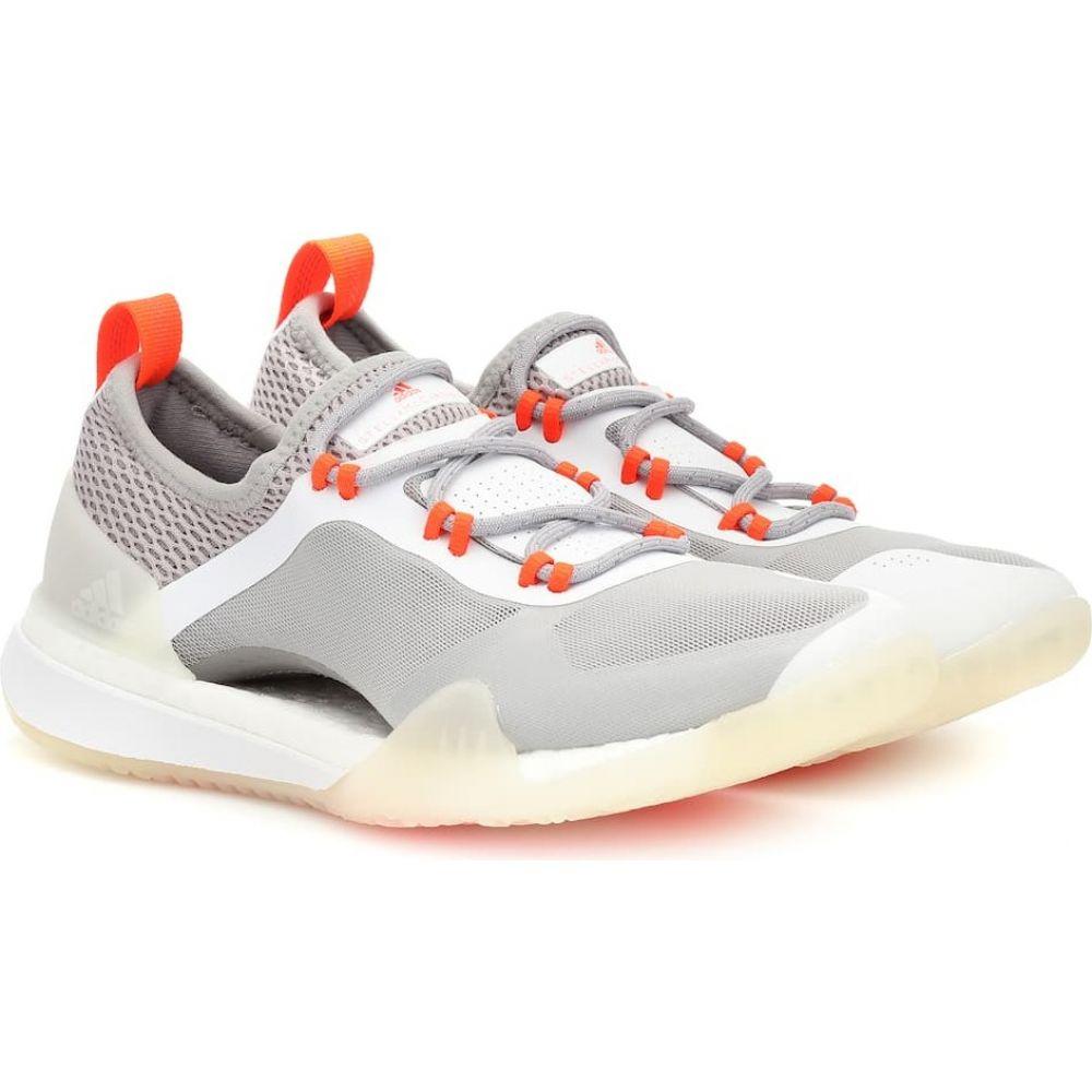 アディダス Adidas by Stella McCartney レディース スリッポン・フラット シューズ・靴【pureboost x sneakers】Ftwwht/Lgrani/Solred