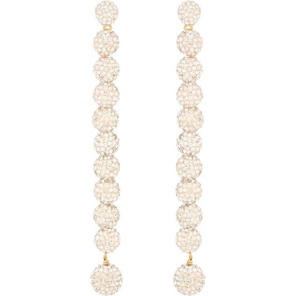 レレ サドイ Lele Sadoughi レディース イヤリング・ピアス ジュエリー・アクセサリー【caterpillar crystal-embellished earrings】