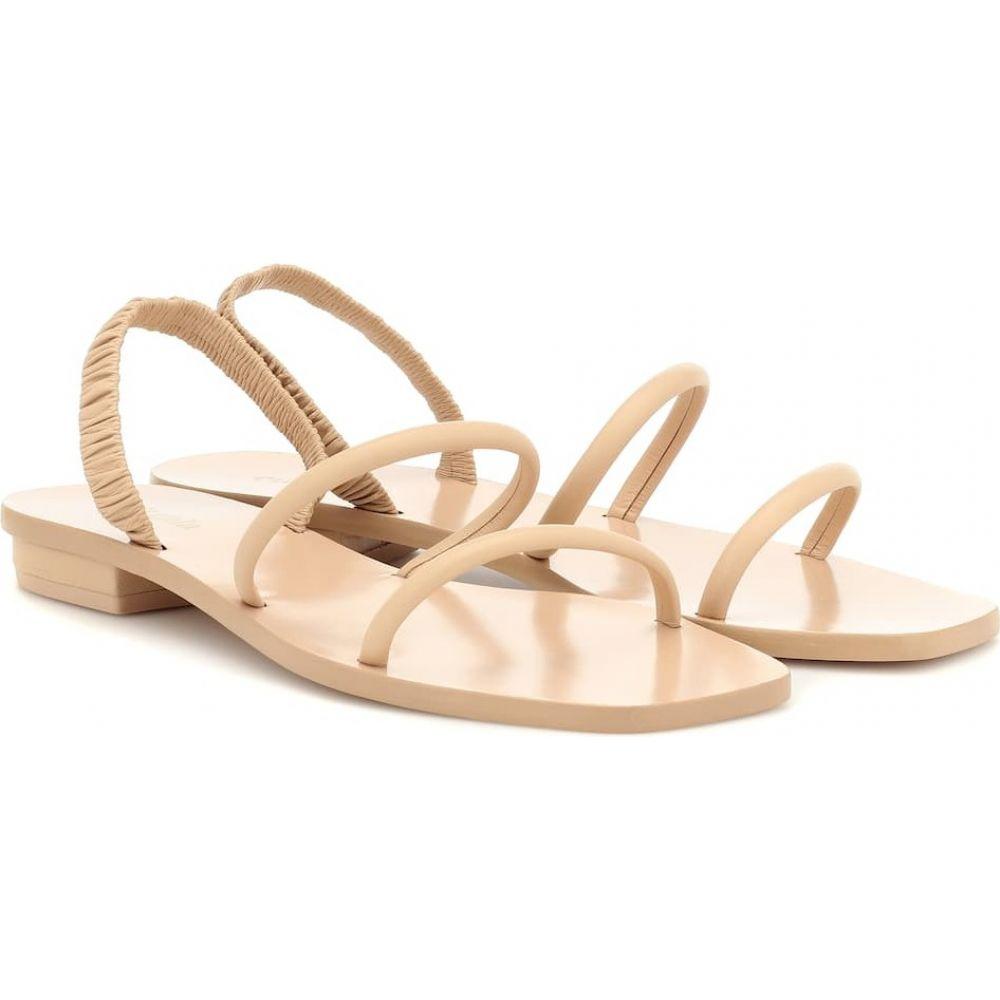 カルト ガイア Cult Gaia レディース サンダル・ミュール シューズ・靴【mona leather sandals】Sand
