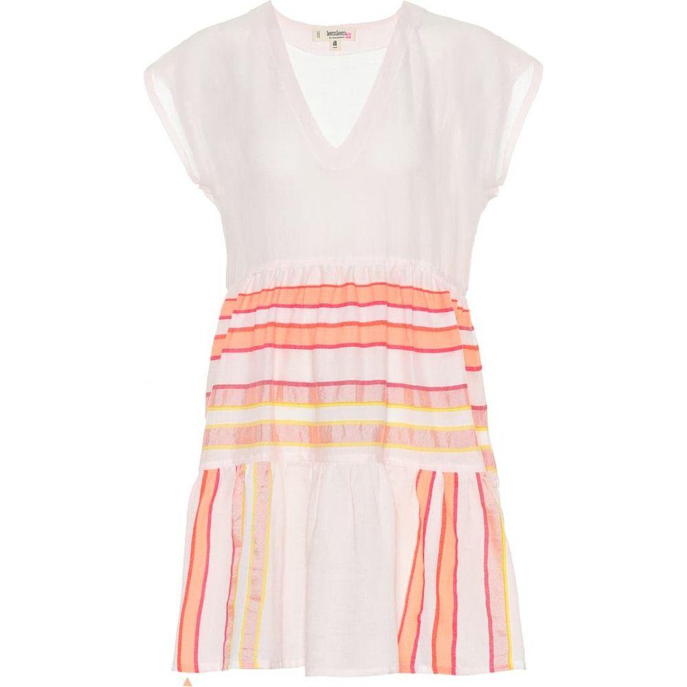 レムレム Lemlem レディース ワンピース ワンピース・ドレス【eskedar cotton-blend minidress】Pink C