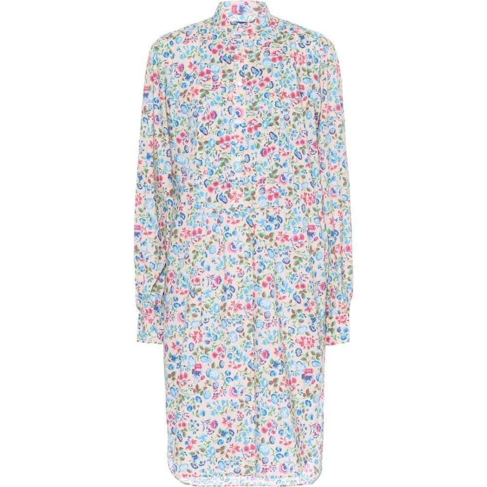 ラルフ ローレン Polo Ralph Lauren レディース ワンピース シャツワンピース ワンピース・ドレス【floral cotton shirt dress】Blue Tan Floral