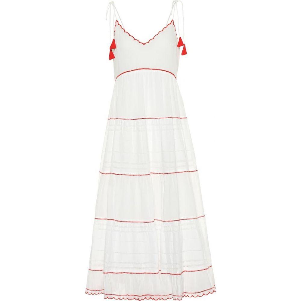 ベルベット グラハム&スペンサー Velvet レディース ワンピース ワンピース・ドレス【kaelynn cotton dress】White