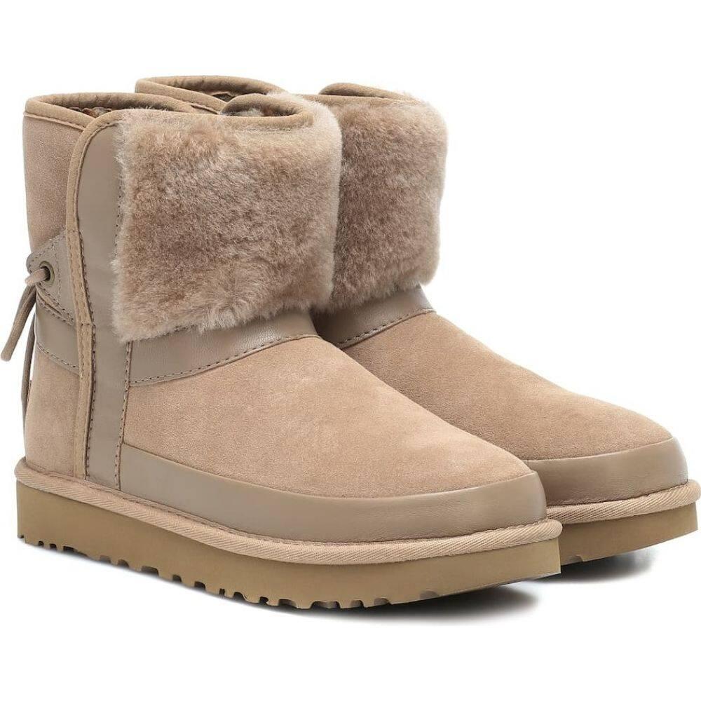 アグ Ugg レディース ブーツ ショートブーツ シューズ・靴【classic bow suede ankle boots】