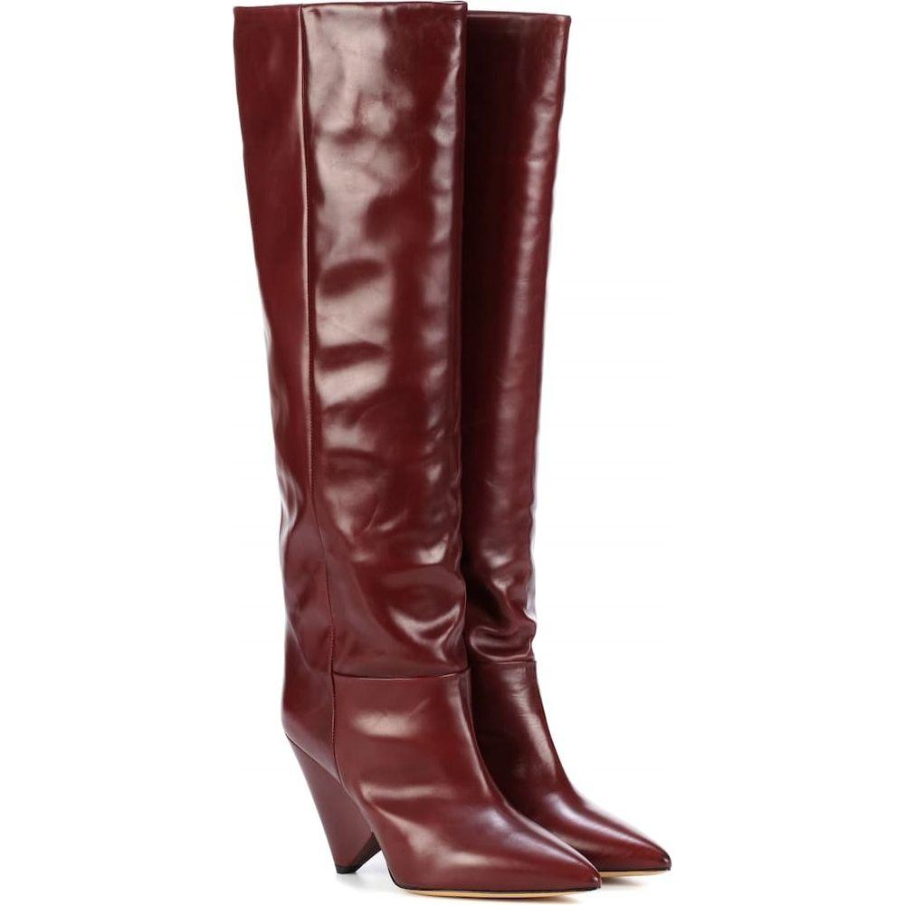 イザベル マラン Isabel Marant レディース ブーツ シューズ・靴【lokyo leather knee-high boots】Burgundy