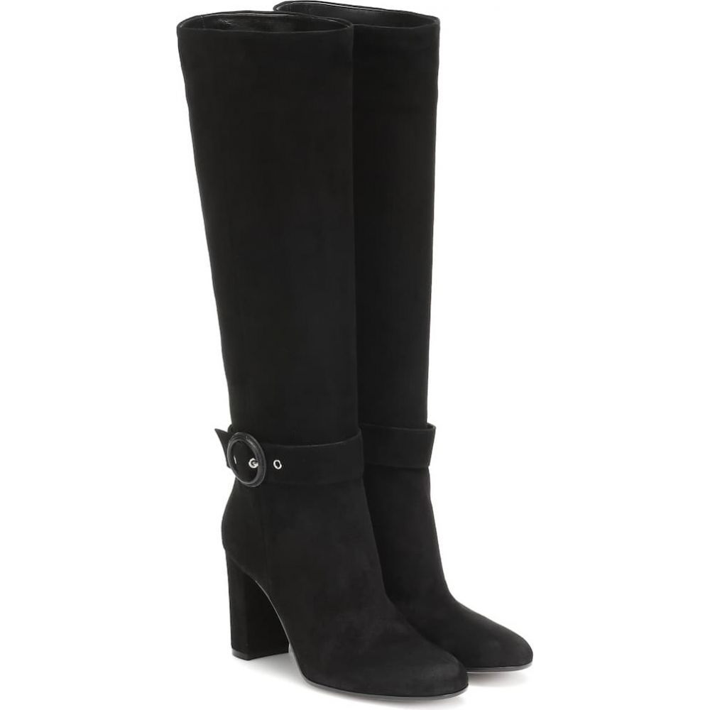 ジャンヴィト ロッシ Gianvito Rossi レディース ブーツ シューズ・靴【suede boots】black