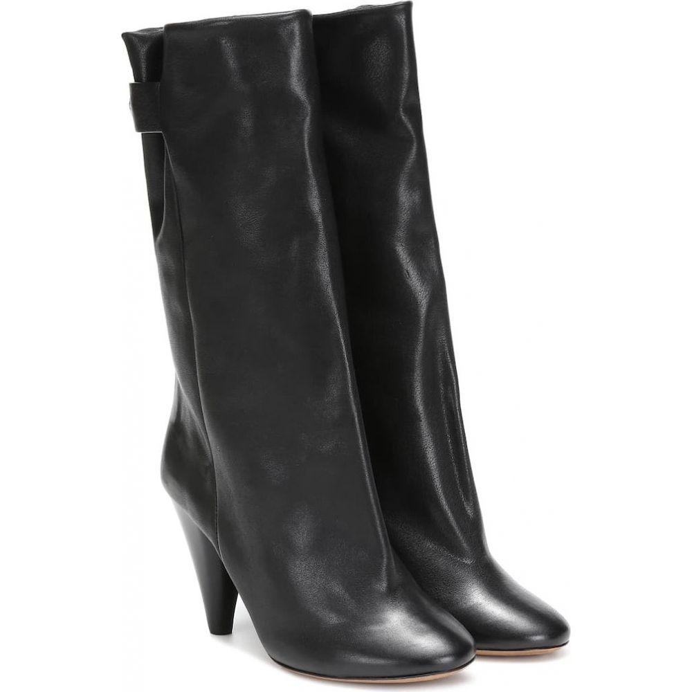 イザベル マラン Isabel Marant レディース ブーツ ショートブーツ シューズ・靴【lakfee leather ankle boots】Black